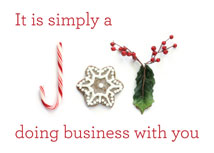 Simply a Joy Business Thank You Holiday Cards